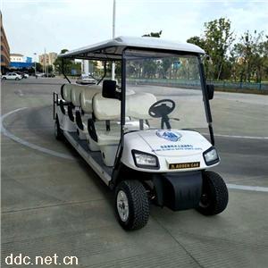 傲森10人座景区旅游电动观光车