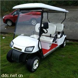 傲森四轮电动高尔夫球车4人座