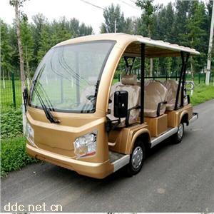 傲森敞篷式11座四輪景區電動觀光車