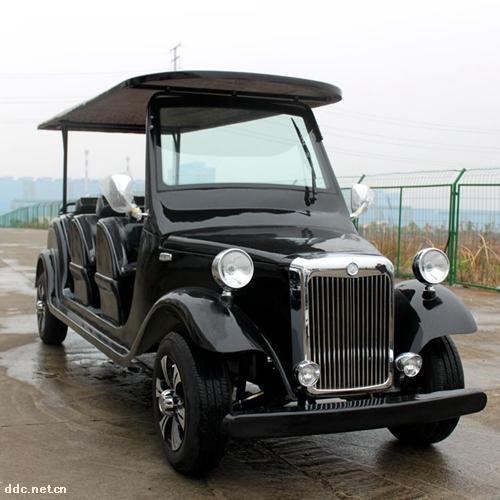 傲森品牌8座黑色电动观光车