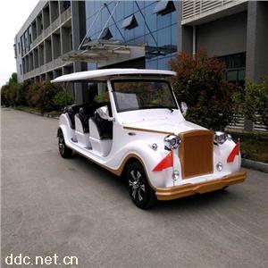 傲森12座白色电动老爷车