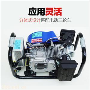 电动轿车增程器发电机4KW72V27极纯铜电芯