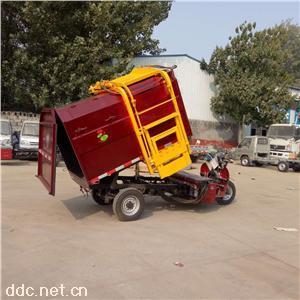 农用自卸式电动挂桶垃圾车