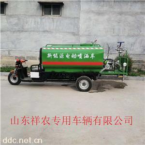 工地廠區小型新能源灑水霧炮車