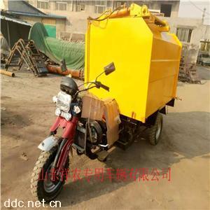 4立方三轮摩托挂桶垃圾车