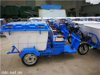 掛桶自卸式電動垃圾車