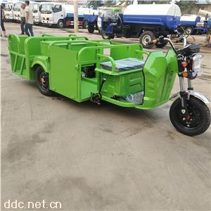 電動垃圾收集車四桶環衛專用