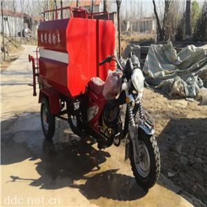 小型电动洒水车消防摩托车