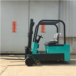三轮重载座驾式2吨2.5米电动叉车