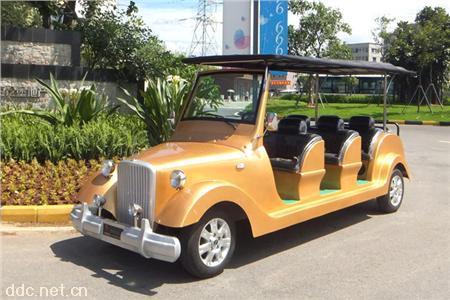景区公园电动观光老爷车