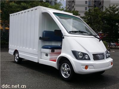 凯驰电动送餐车带不锈钢保温箱体