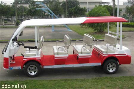 凱馳14座電動觀光車