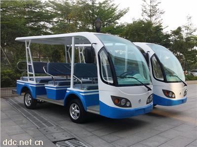 凯驰11座电动景区观光车