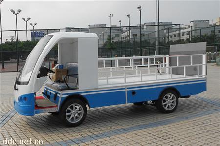 凯驰2座改装液压尾板斗式货车载重2吨