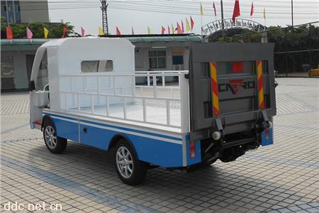 凯驰2座改装液压尾板斗式货车载重1吨