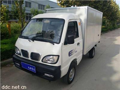 凯驰2座带门箱式电动货车载重1吨