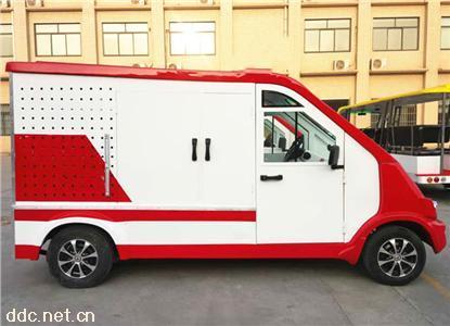 凯驰2座封闭式电动消防车