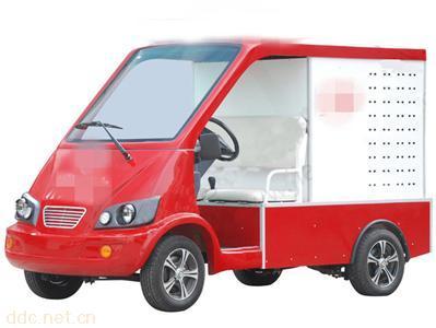 凯驰2座电动消防巡逻车