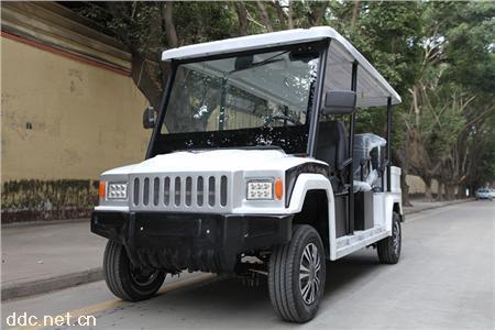 凯驰6/8座悍马电动巡逻车带后备箱