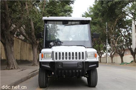 凯驰悍马5、8座治安巡逻电动车带小箱体