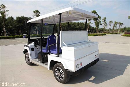凯驰5座悍马电动巡逻车带后备箱