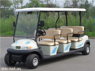 凯驰6座景区观光巡逻电动车高尔夫款