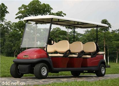 高尔夫球场景区电动观光游览车球车