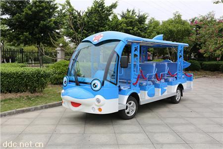 凯驰景区14座海豚观光车