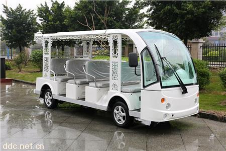 凯驰11座观光车 景区电动观光车