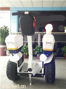 两轮平衡巡逻电动车