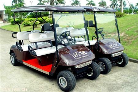 凯驰4座6座8座电动高尔夫观光车