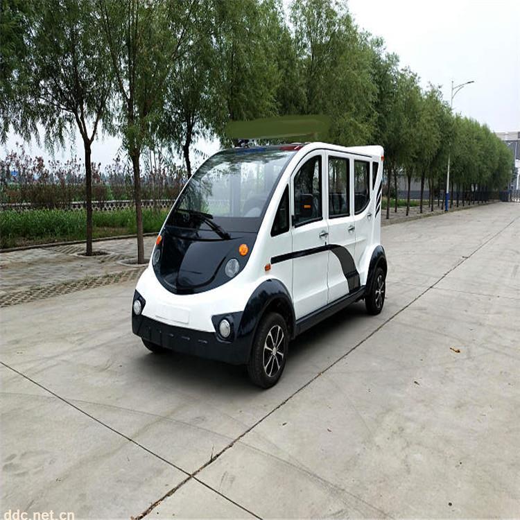 凯驰4座6座带门的电动巡逻车价格
