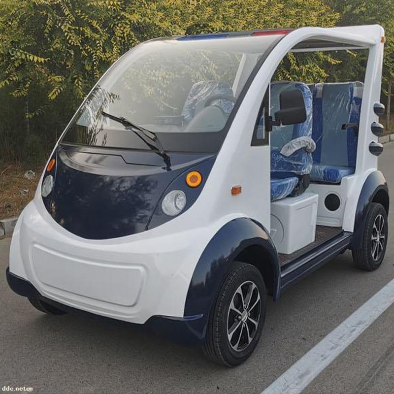 凯驰4座治安电动巡逻车价格