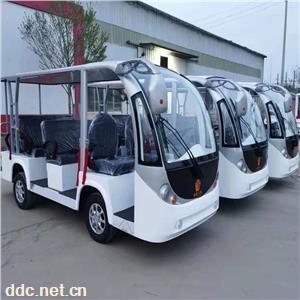 厂家供应景区11座电动观光车