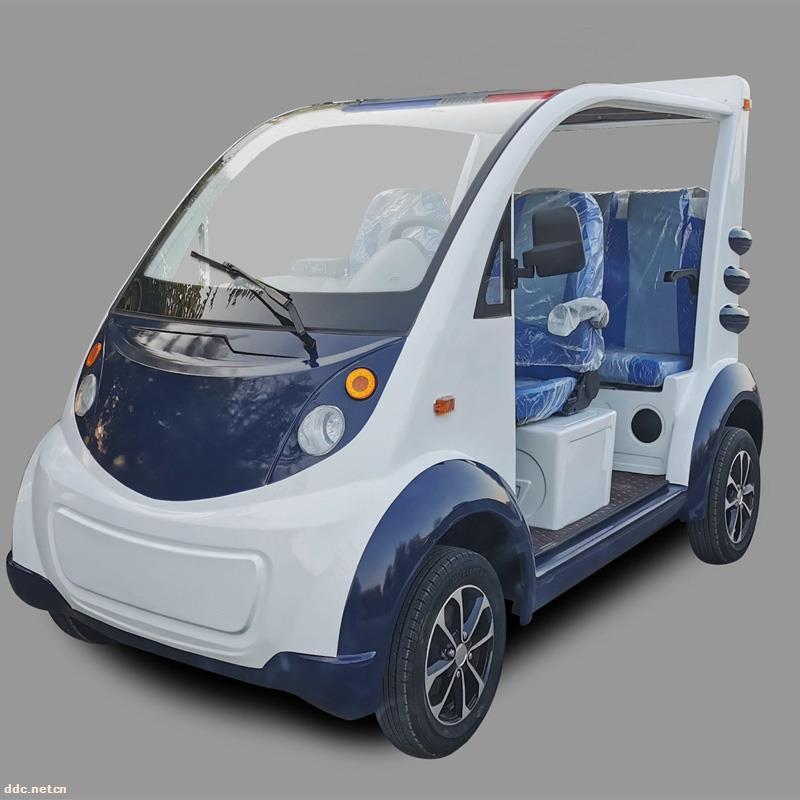 凯驰四轮带门电动巡逻车价格