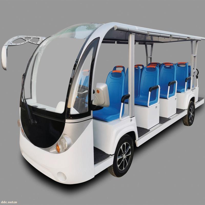 凯驰14座17座景区电动观光车价格