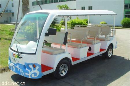 凯驰11座电动观光代步车