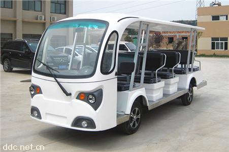 凯驰14座电动观光车配免维护电池