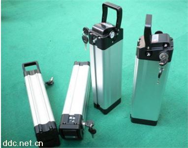 36V锂电池自行车银鱼款锂电池盒子