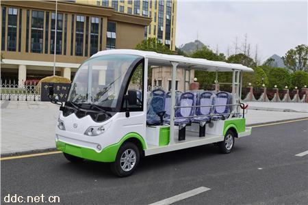 忠辉14座旅游电动观光车
