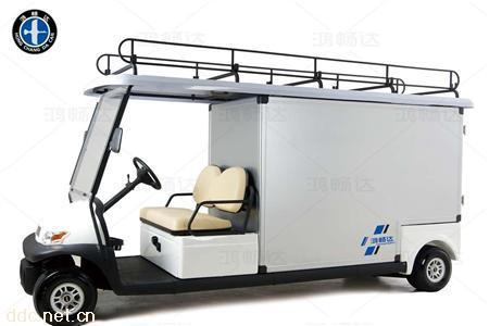 新款便捷电动餐车电动货车