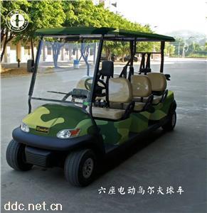 鴻暢達新款六座電動高爾夫球車