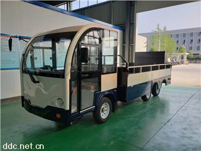 电动厢式货车鸿畅达新款电动升降重载货车价格
