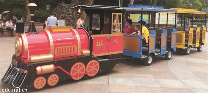 鸿畅达27座72V奥特莱斯款电动小火车