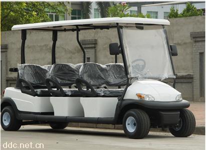 鸿畅达景区新款6座电动旅游观光车