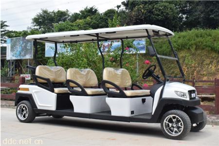 鸿畅达M款6座景区高尔夫观光车
