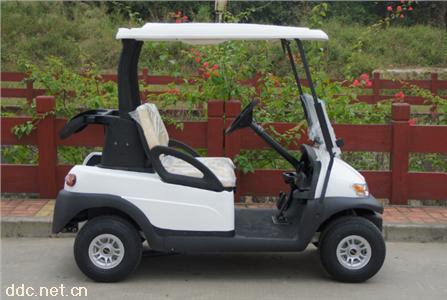 2座电动高尔夫球车鸿畅达电动旅游观光车