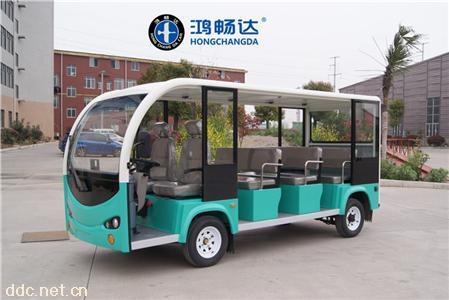 鴻暢達電動觀光車新款四輪
