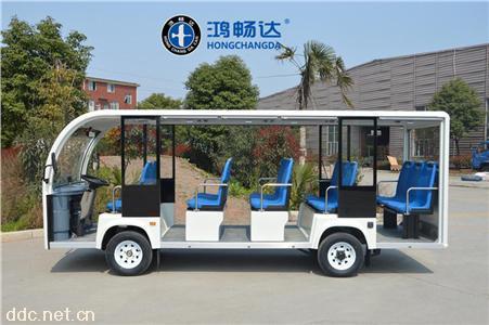 鸿畅达节能环保操作简单电动观光车