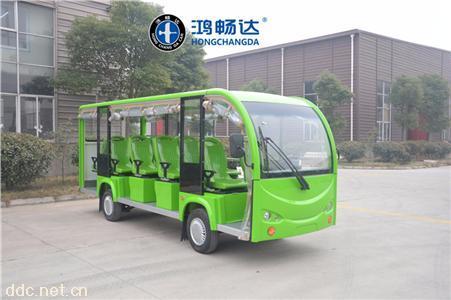 鸿畅达直销敞开式电动观光车